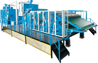 Fiber Processing / Nonwoven Cotton Carding Machine High Performance Dust Collection System