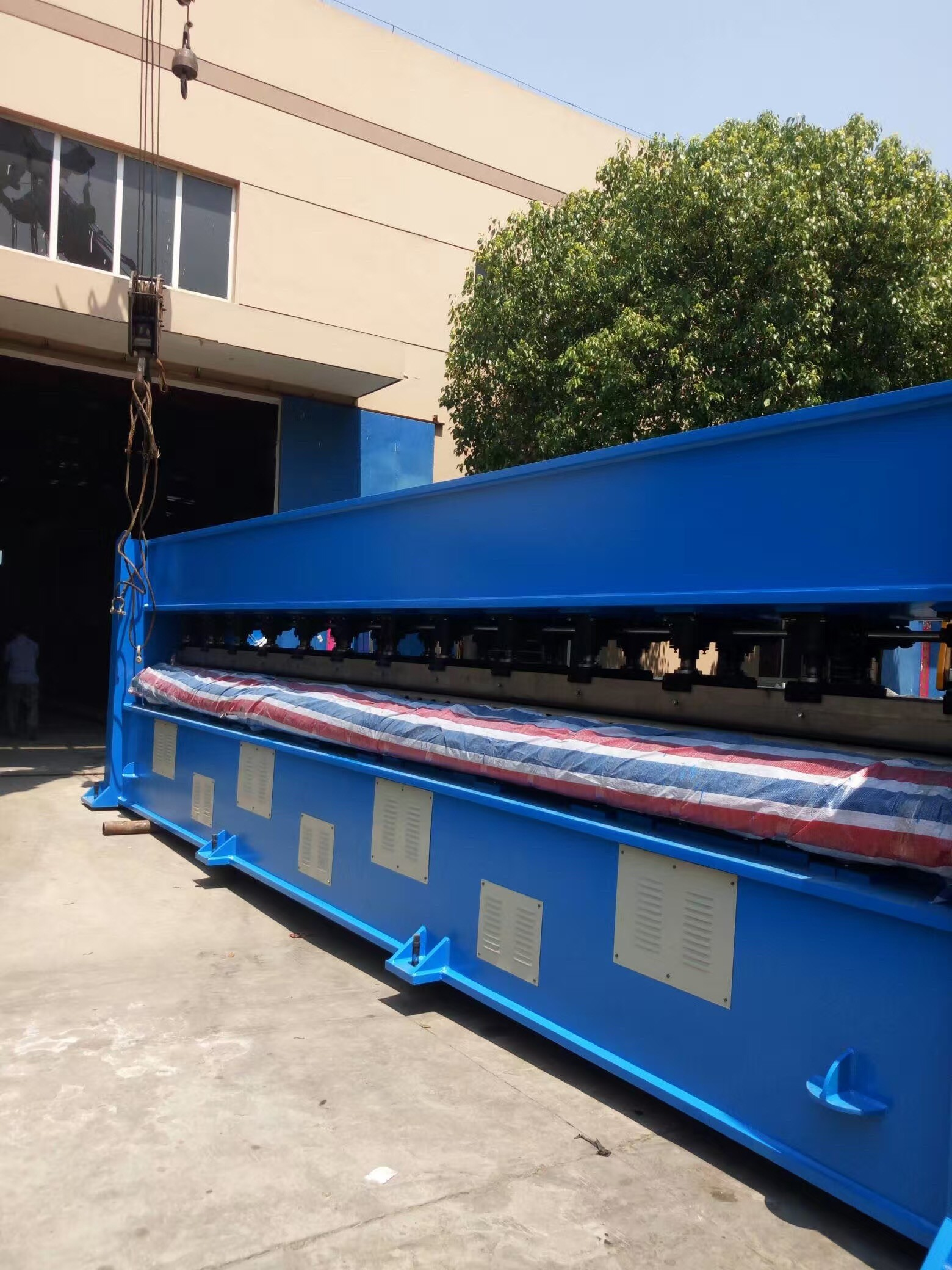 Felt Middle Speed Needle PunchIng Machine , PP Non Woven Fabric Making Machine