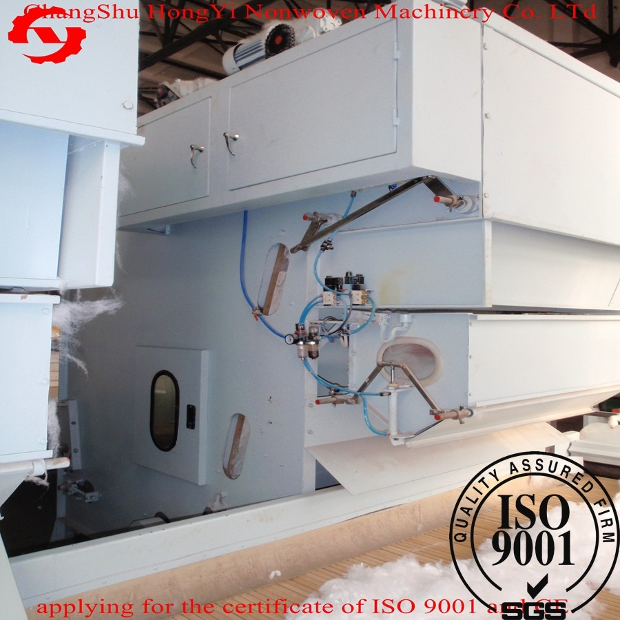 Automatic Weighing Cotton Opener Machine 1100mm , Felt Making Machine  For Carpert Making 200kg/H