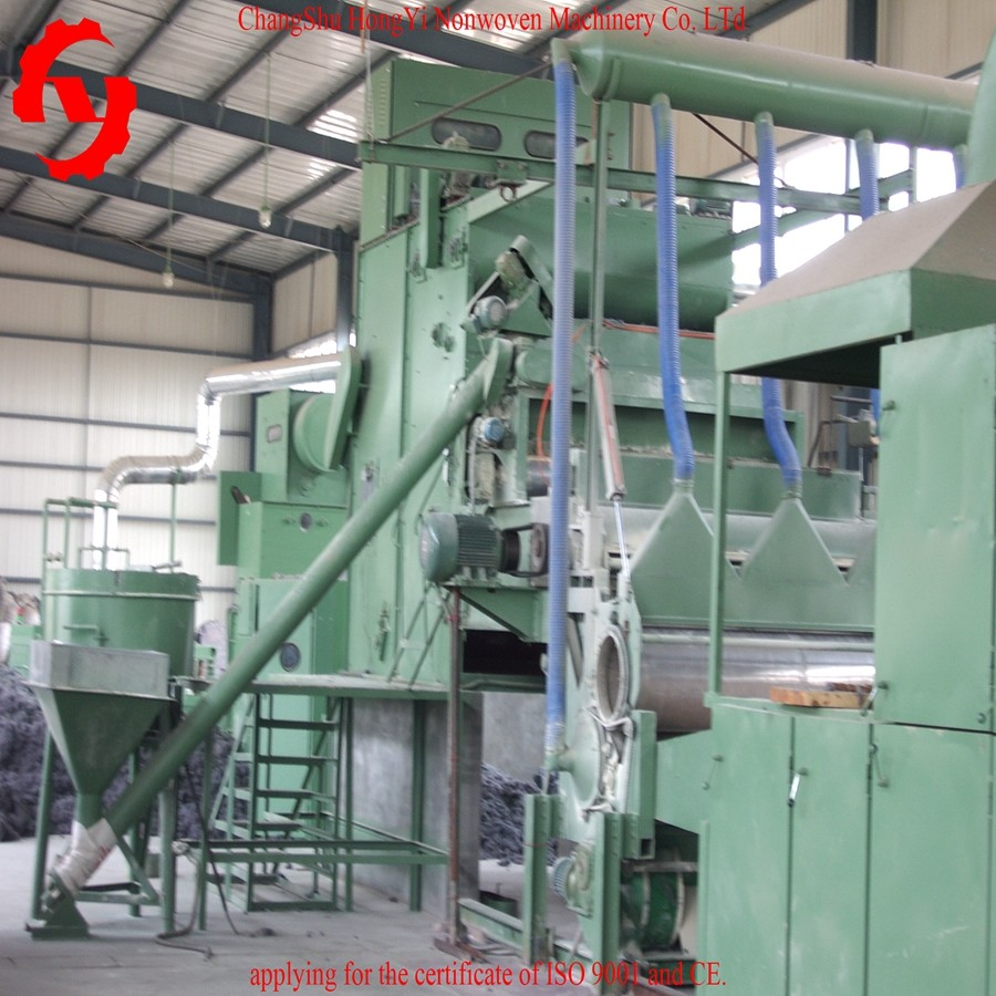5.5 M Nonwoven Waste Felt Making Machine With CE / ISO9001 Certificate