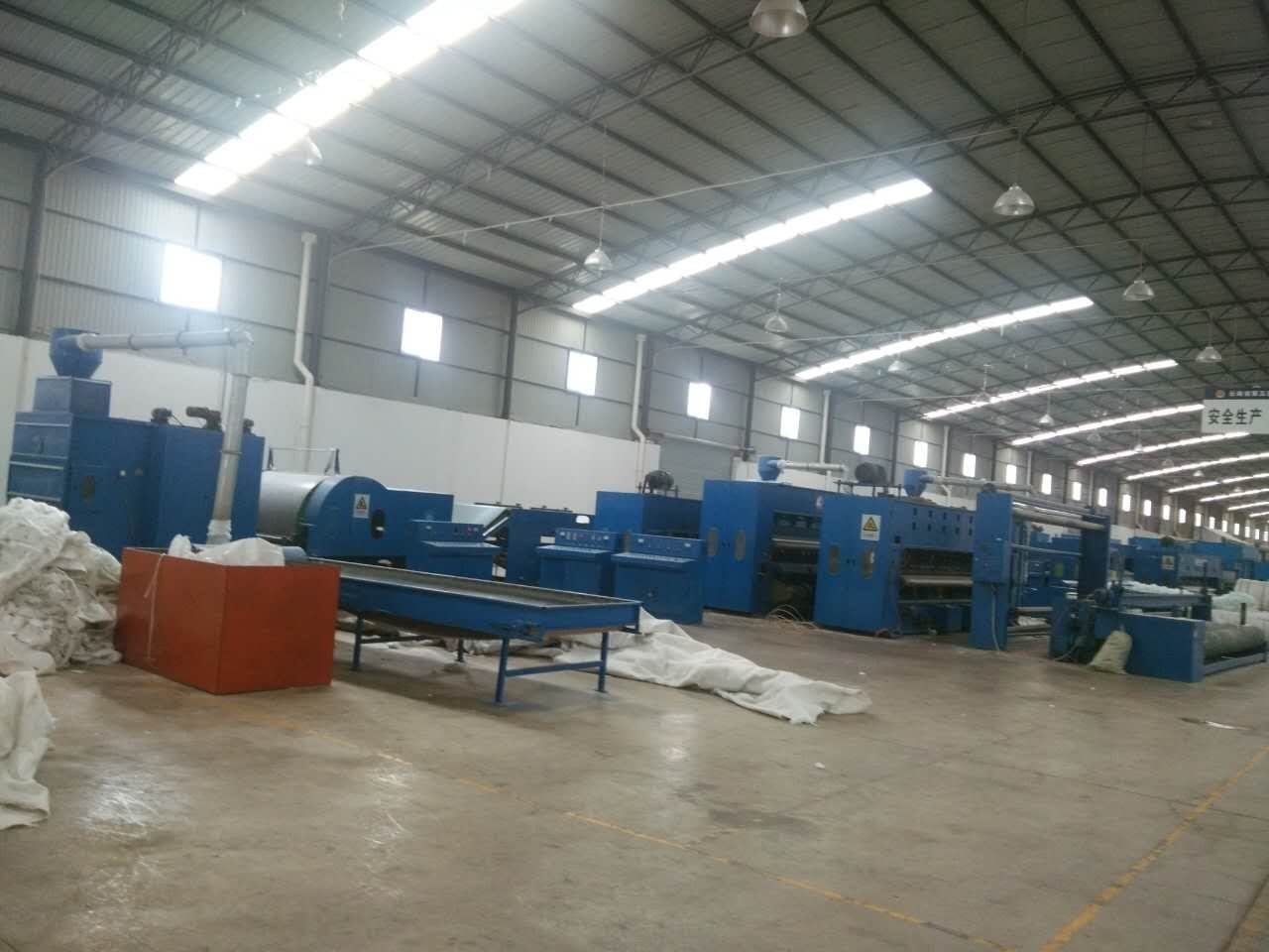Greenhouse Recycled Fiber Felt Making Machine With Product Weight 100~1000g/M2