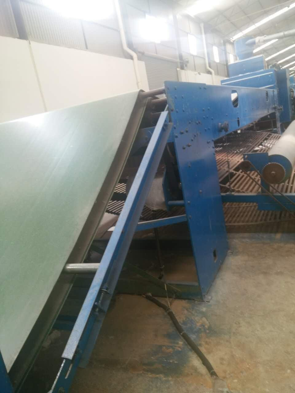 9m ISO9001 blue color Wool nonoven needle punching Felt  Making Machine