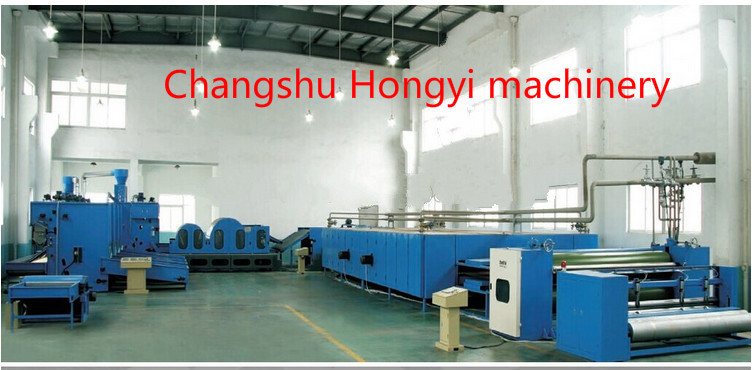 Wadding Automatic Industrial Mattress Manufacturing Equipment With Single Cylinder