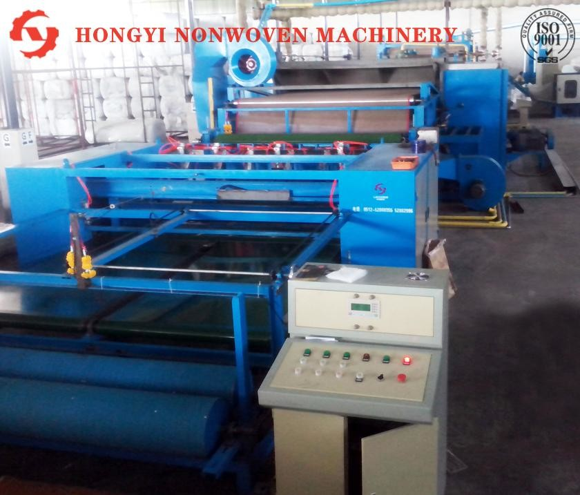 High Performance Nonwoven Fabric Making Machine For Car Interior