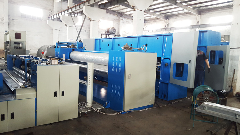 Synthetic Leather Fabric Production Line Low Consumption 100-350kw