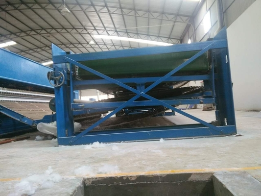 Felt Fiber Materac Making Machine 3,5 M Z Non Woven Needle Do wykrawania Machine